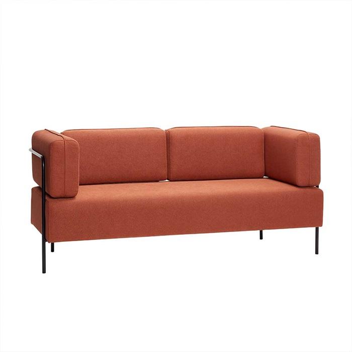 2-personers sofa i Brun