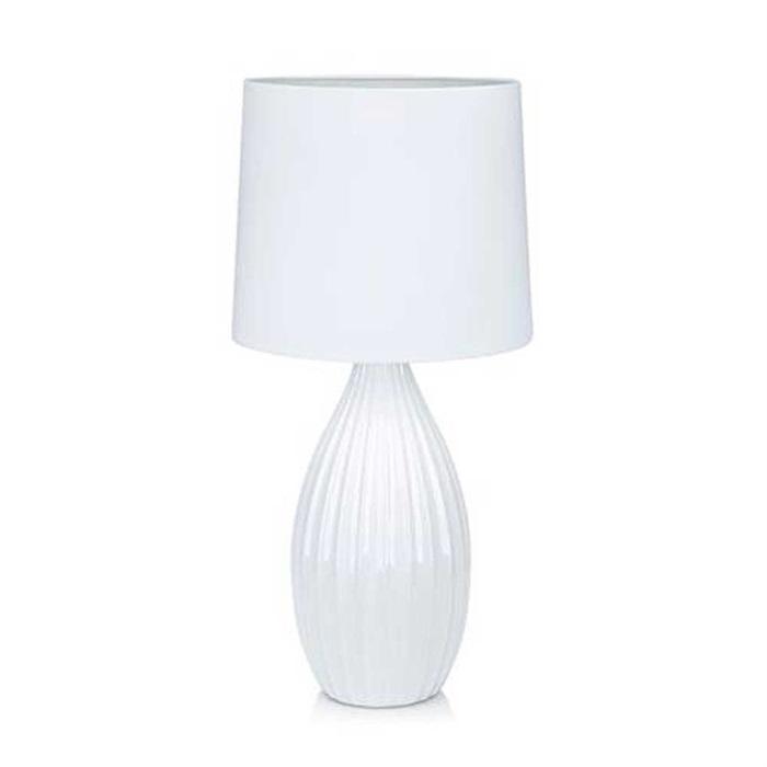 Bordlampe Stephanie i Hvid