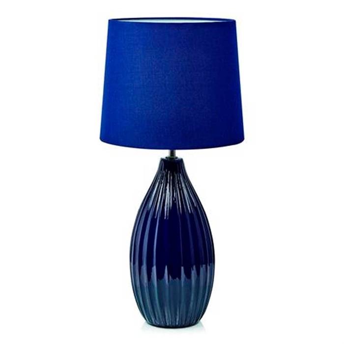 Bordlampe Stephanie i Blå