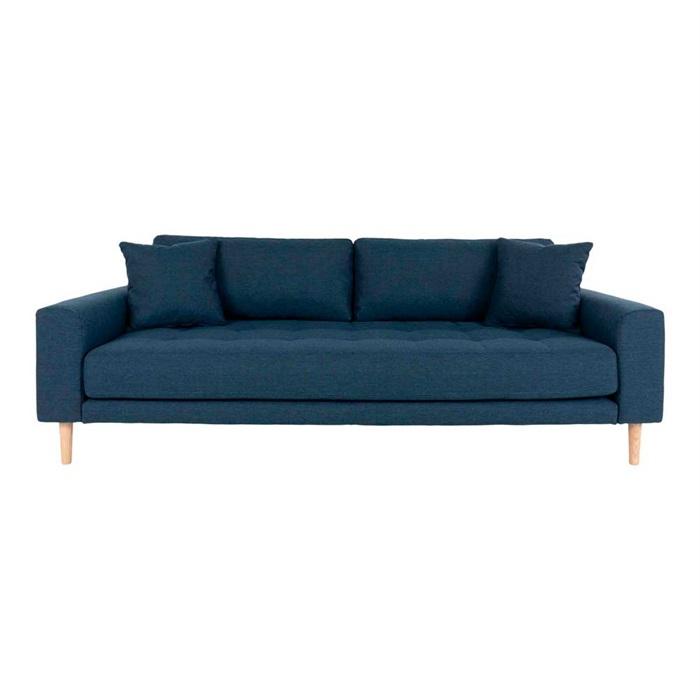 Lido 3-personers Sofa – Mørkeblå