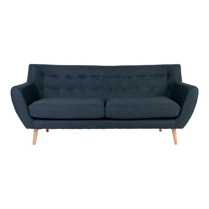 Monte 3-personers Sofa 180 cm. – Blå