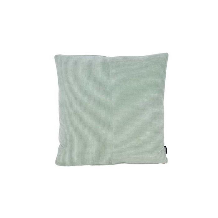 Fløjl Pyntepude i Mintgrøn - 45x45 cm.