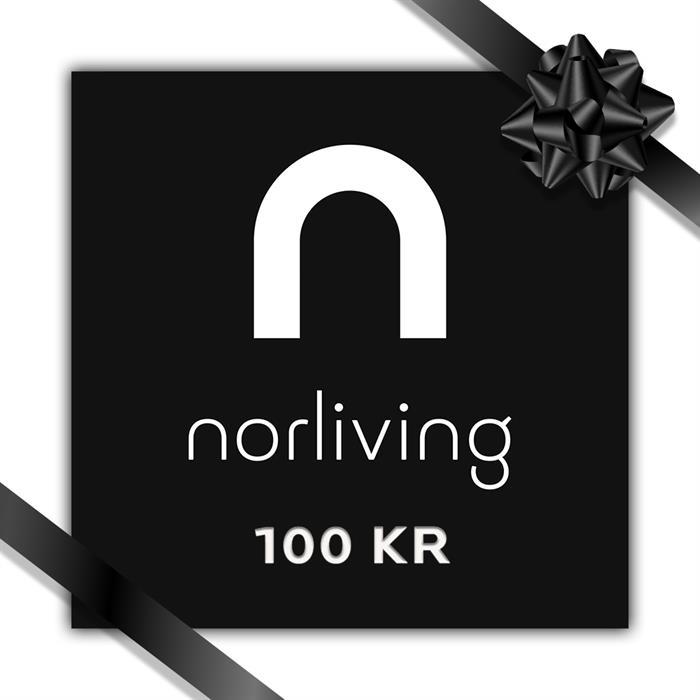 Gavekort til norliving på 100 kr