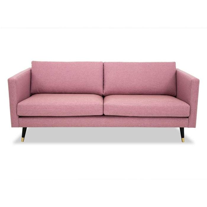 Maison 3-personers Sofa i Pink