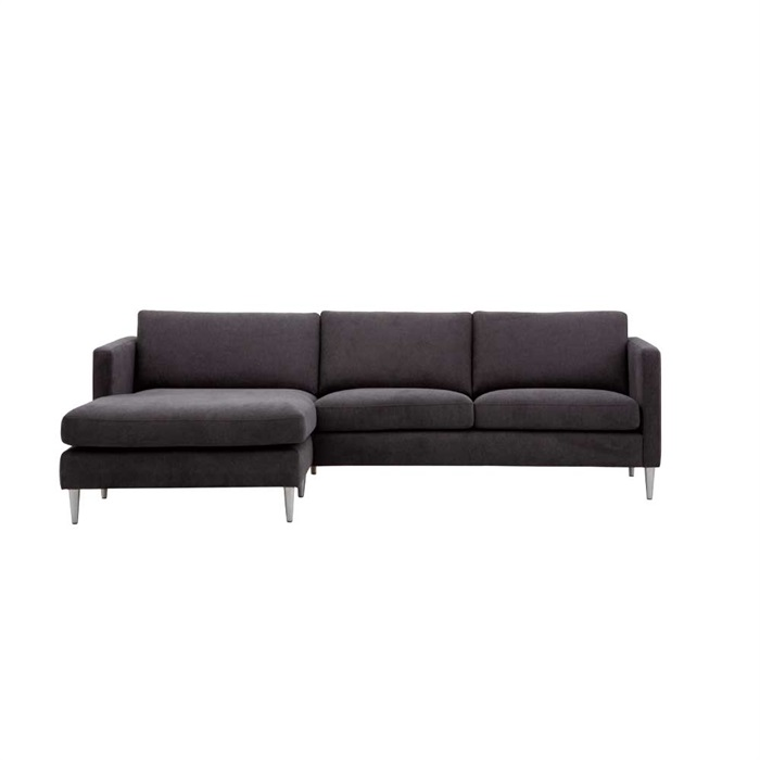 Nordic 2,5-personers Sofa med Chaiselong Venstre