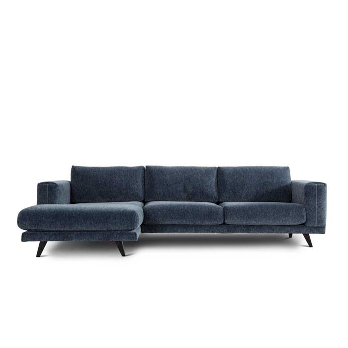 Sofa model Praia – 2,5 Personers med Chaiselong i Venstre Side
