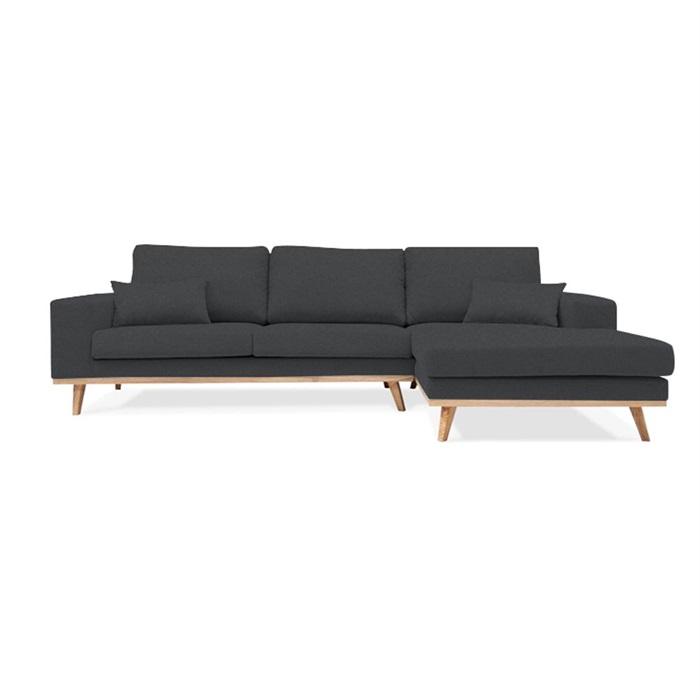 Simone 3-Personers Sofa (på lager) Chaiselong højre farve 2817