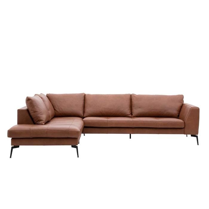 Viggo 3-personers Sofa med Open End til Venstre
