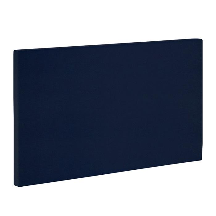 Sengegavl Velour 120 cm Imperia Blå model plan