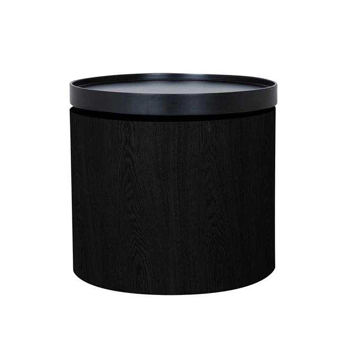 Billede af Odnes bord sort med sort top