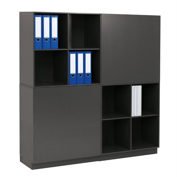 Ubrugte Square Reolen Rumdeler i sort   KI020180410   Køb den lige her HX-61