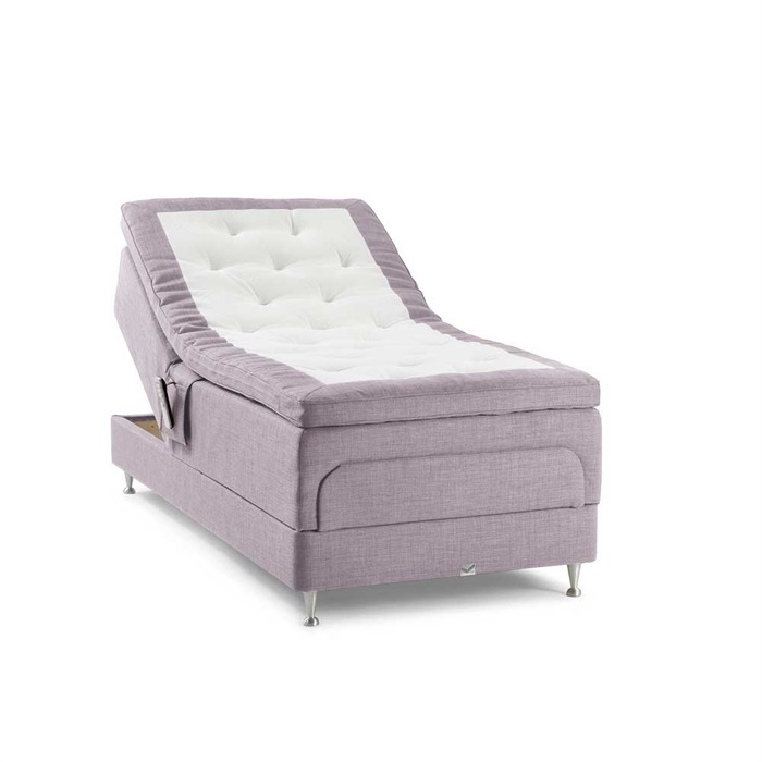 Sirius DuoFlex Elevation by Viking Beds - Rosa Como