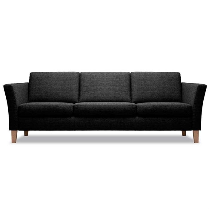 Cara 3-personers Sofa i Mørkegrå