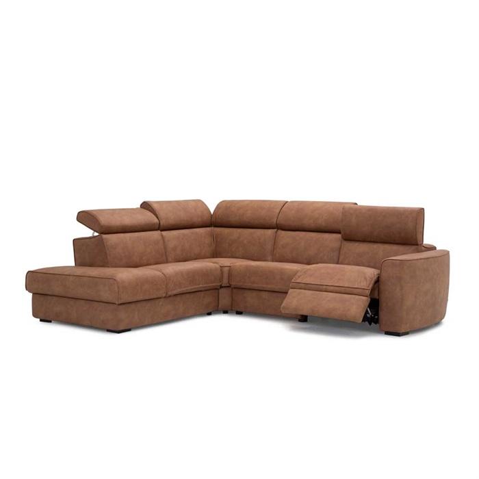 Dreamer 3-Personers læder Sofa med Open End til Venstre