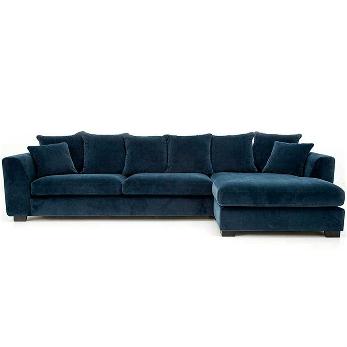 More 3-personers Sofa med Chaiselong til Højre