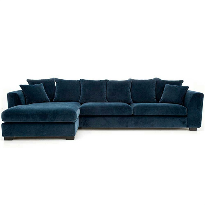 More 3-personers Sofa med Chaiselong til Venstre