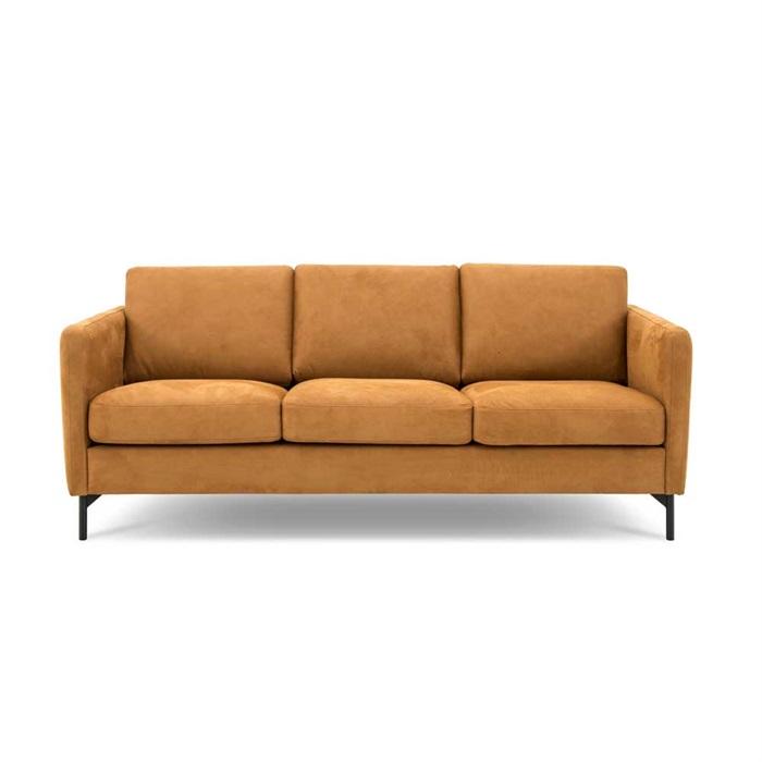 Nordic 3-personers Sofa i Cognac