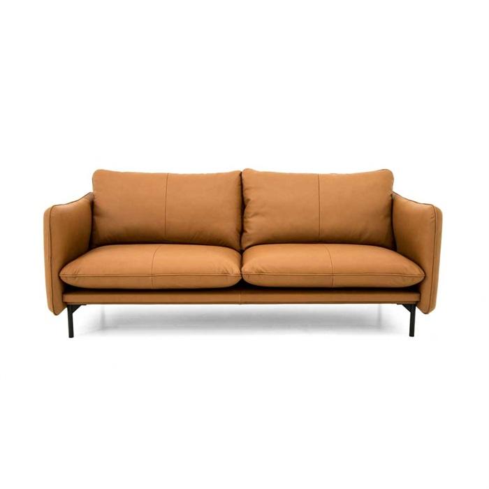 Suny 3-personers Sofa i Cognac Læder